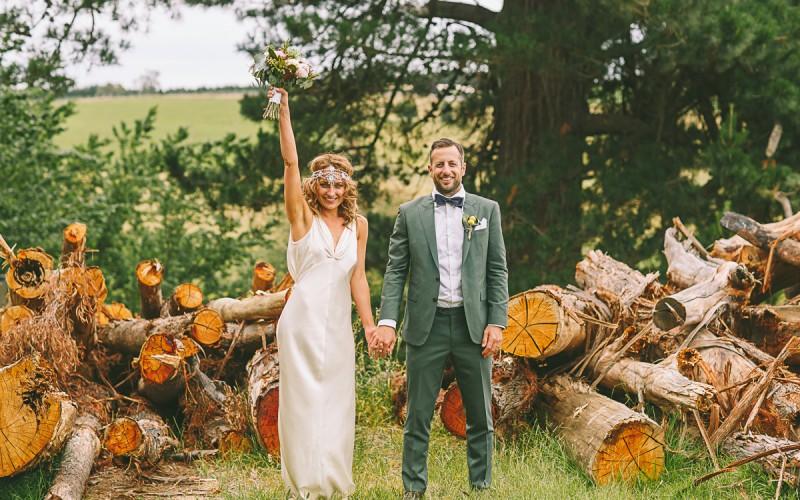 MIKAELA AND LEIGH, WEDDING
