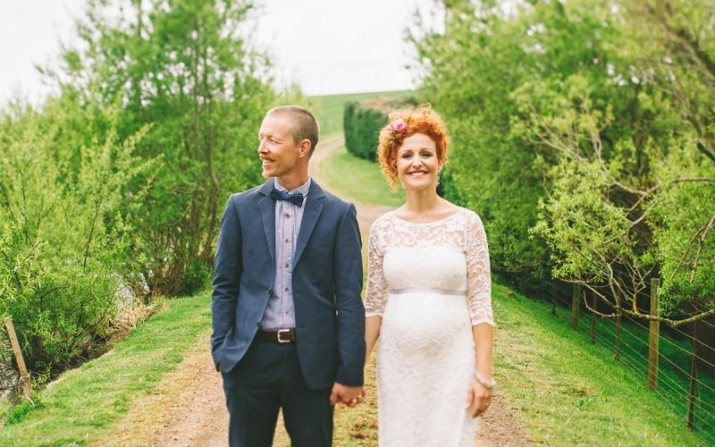 BROOKE AND TOM, WEDDING