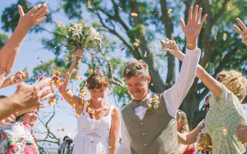 ALLY AND JONNIE, WEDDING